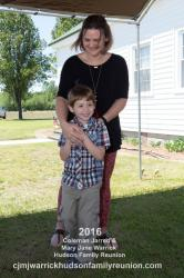 2016 – Descendant Five Years Old: Maddox Gibbon Clifton (with his mother, Norma Spell Clifton).