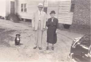 George, Mamie and Dog