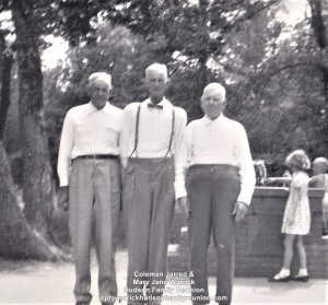 Three Sons of Coleman Jarred (Jart) Hudson