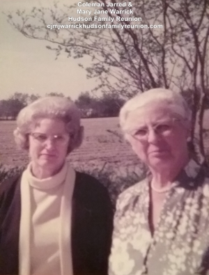Ethel Hudson Forbes and Sallie Hudson Roberts