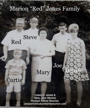 Marion (Red) Francis Jones & Family