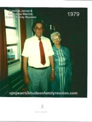 1979 -Family of John: Lucian Hudson, Son of John; Sallie Roberts, Daughter of John
