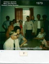 1979 - Family of Hollie: [Tom Hudson and Edith Sykes in foreground are Family of Charlie], Rex Outlaw, Husband of Lynn;