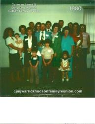 1980 - Largest Family Present - Family of George
