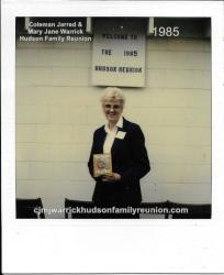 1985 - Longest Distance Traveled: Virginia Hudson Bundy - 575 miles