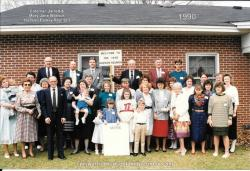 1990 - Family of George: First Row: Brittney Hudson, Natalie Hudson, Kate Hudson, Blake Hudson Second Row: Janet Hudson