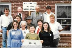 1990 - Family of Hollie: First Row: Kathy Shipp Mozingo Blagg, Aaron Mozingo, Michelle Mozingo. Second Row: Nathan Hudso