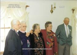 1995 – Descendants Age 80 and Older: Sallie Hudson Roberts (86), Elva Hudson Hunter (92), Gertrude (Gertie) Hudson (81