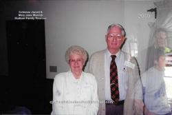 2000 - Most Recently Married - Dora Hunter Barlow and Ben Boney.