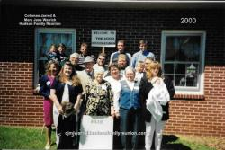 2000 - Family of Hollie -  First row: Christina Weeks. Second row: Michelle Weeks, Lossie Hudson Shipp, Swannie Hudson,