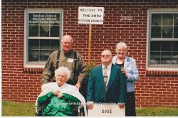 2005 – Family of Bose: First Row – Janie Doll Hudson Bradsher Wallace, Edward Gerald Hudson. Second Row – Donnie R
