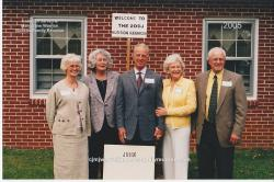2005 – Family of John: Anne Hudson, Sarah COLLINE Roberts, James (Jim) Edward Hudson, Sybil Hudson, John Troy Hudson.