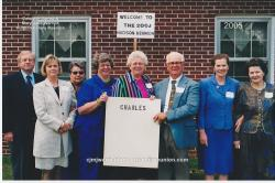 2005 – Family of Charlie: Kenneth Honeycutt, Dot Hudson Honeycutt, Edith Hudson Sykes, Donna Landes, Helen Register, H