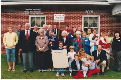 2005 – Family of George: First Row – Pelmon Jart Hudson III, Jenna Elizabeth Malone, Paxton Hudson. Second Row - ??,