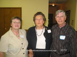 2010 – Memorial Candlelight Ceremony Representatives: Barbara Jean Hudson, Family of Sam; Eleana Sutton Hudson, Family
